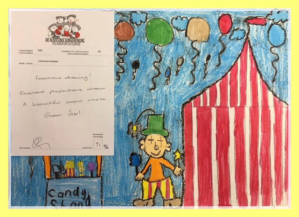 Artwork - Circus Clown and Candy