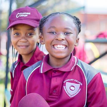 Happy Covenant College children