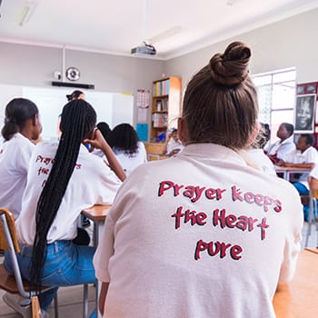 Prayer keeps the heart pure