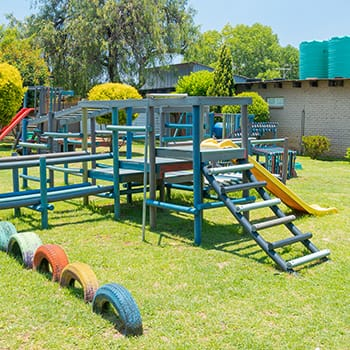 Grade R jungle gym play area