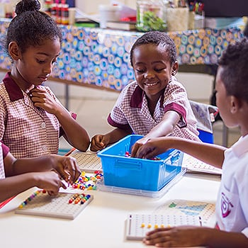 Primary School Academics using colour in maths