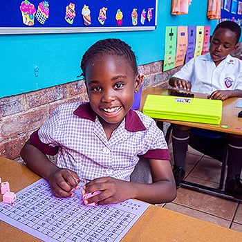 Primary School Academics Maths Smiling Student